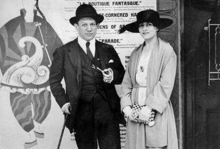 Pablo Picasso and Olga Khokhlova, 1917