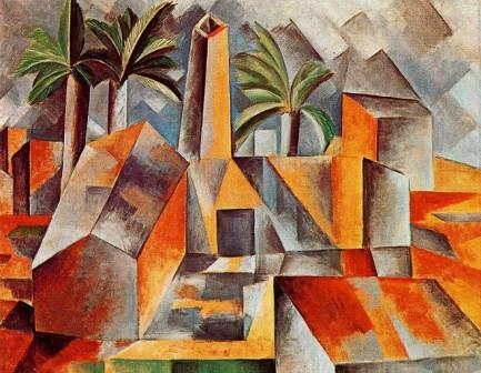Spanish factory by Picasso (cubism)
