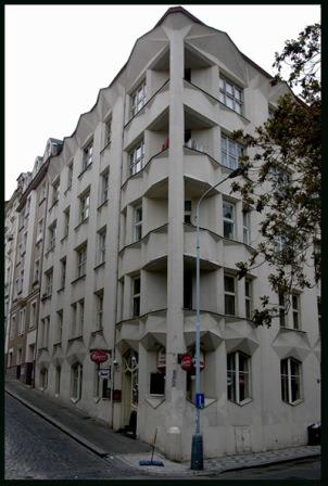 A cubist house in Prague, 1914 (cubist architecture)