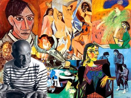 An Example of Photo Collage (Picasso)