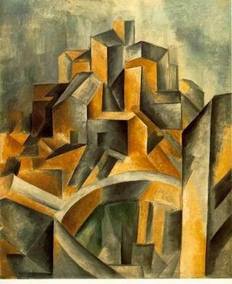 The Reservoir by Picasso (1909) (analytical cubism)