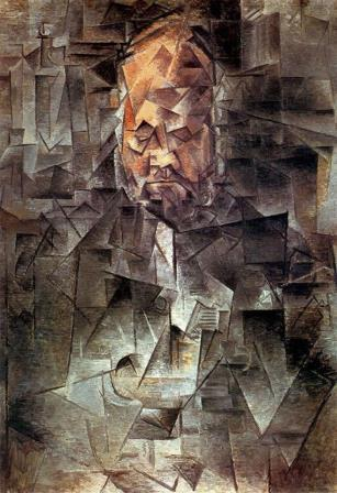Portrait of Ambroise Vollard by Picasso